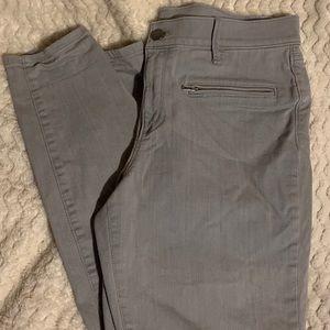 Cute grey skinny jeans